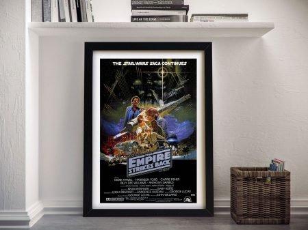 The Empire Strikes Framed Wall Art