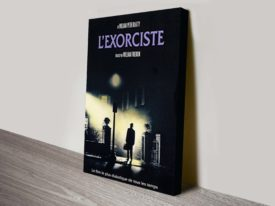 The Exorcist Movie Poster Canvas Print