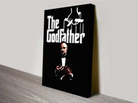 The Godfather Movie Poster canvas art