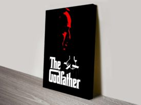 The Godfather Movie Poster Canvas Print
