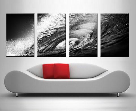 the hook 4 panel canvas print australia