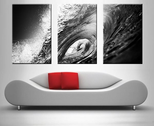 Buy The Hook Triptych on Canvas Print