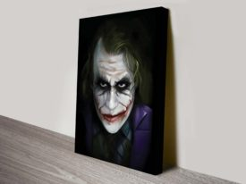 The Joker Batman Pop art on canvas