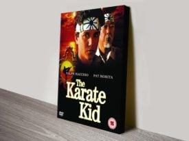 Karate Kid Movie Poster Canvas Print