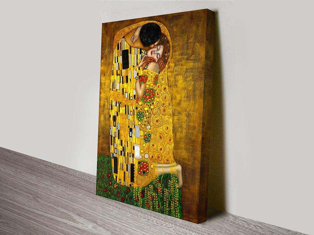 The Kiss by Gustav Klimt Wall Art Prints | Framed Art Online Australia