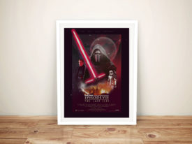 The Last Jedi Poster Framed Wall Art Australia