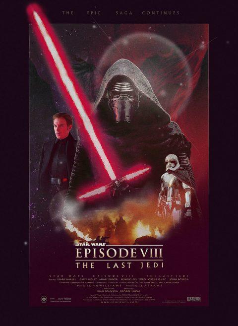 The Last Jedi Poster Art Print