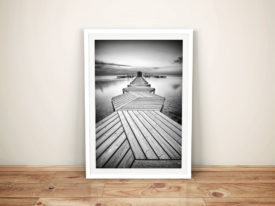 Buy The Linear Path Abstract Framed Wall Art