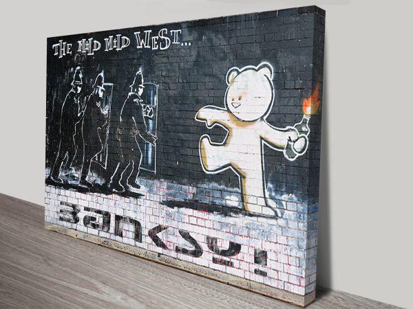 The Mild Mild West Banksy Art