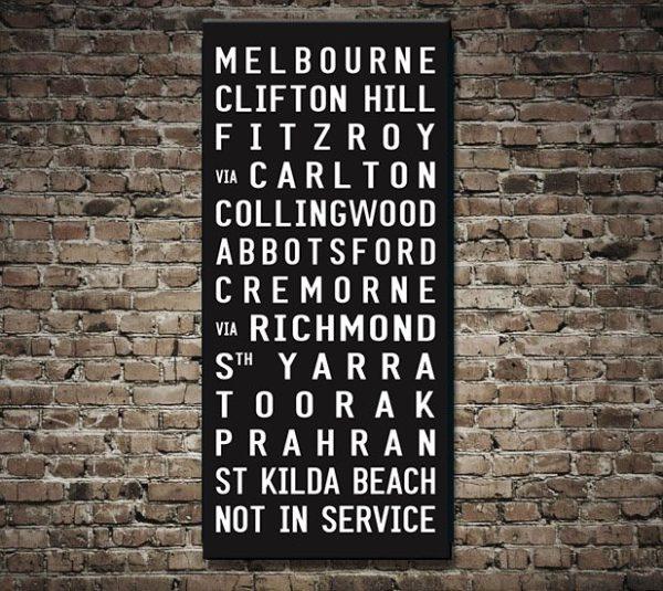 Neighbours Set Melbourne Tram Scroll