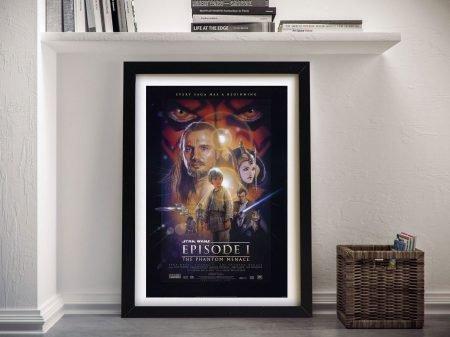 The Phantom Menace Framed Wall Art