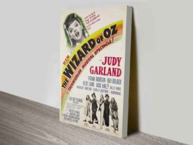 The Wizard of Oz Movie Poster Canvas Print