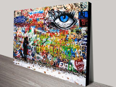 Graffiti Artwork on Canvas