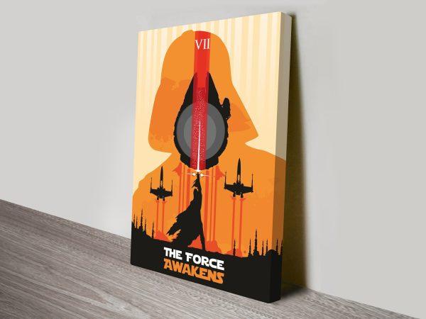 The Force Awakens Star Wars Art Poster