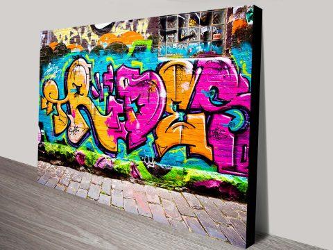 Graffiti Art Canvas Printing Sydney