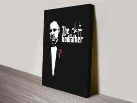 The Godfather Canvas Pop Art Prints Melbourne