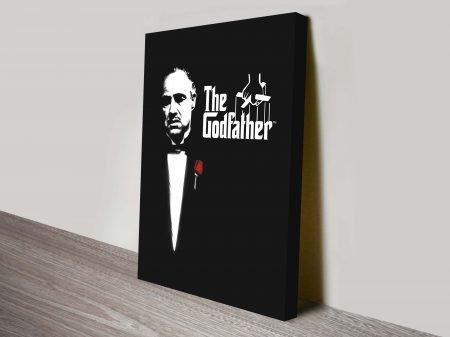 The Godfather Canvas Pop Art Prints Melbourne
