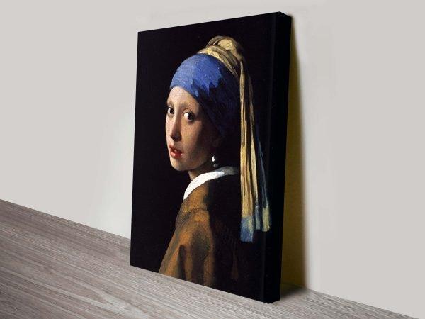 The Girl with Pearl Earring Johannes Vermeer Print