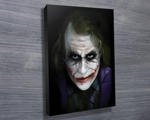 The Joker Pop Art Canvas