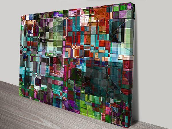 The Trancendental Idea sm Abstract Wall Art Print