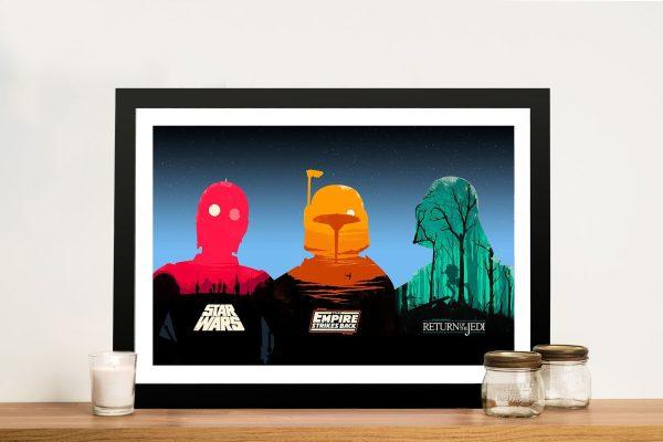 Legends of Star Wars Framed Wall Art