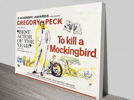 To Kill a Mockingbird Movie Poster on Canvas