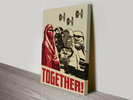 Together-Propaganda-Star-Wars-Art-Poster