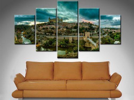 Toledo Alcazar 5 Panel