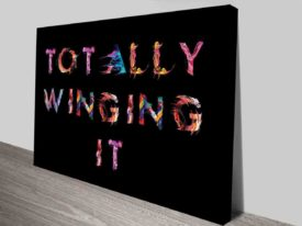 Totally Winging It