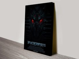 Transformers: Revenge of the Fallen Movie Poster Canvas Print
