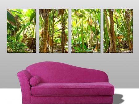 Tropical Rain Forest 4 Split Canvas Print