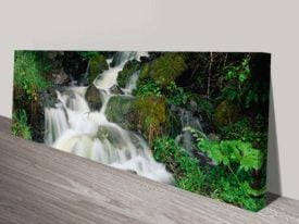 Waterfall Print on Canvas