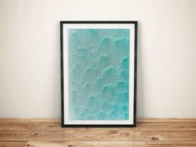 Turquoise Waters Framed Surf Wall Art