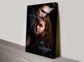 Twilight Movie Poster Canvas Print