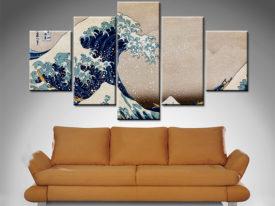 The Great Wave off Kanagawa custom canvas art