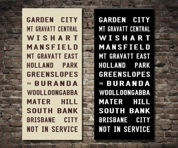 Garden City Bus Scroll