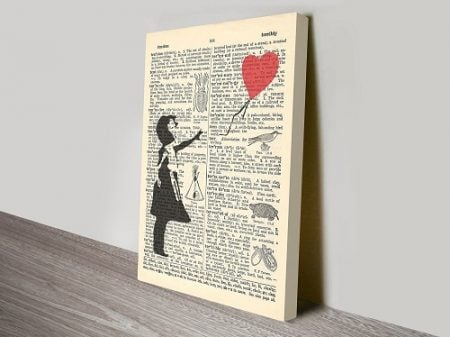 Upcycled Dictionary Art