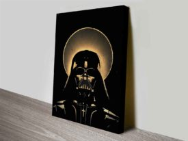 vader vintage wall art print on canvas australia