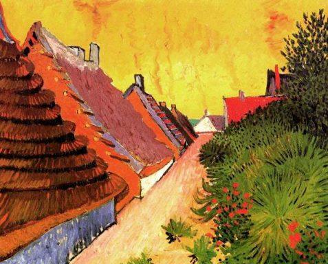 Van Gogh Street in Saintes-Maries Art Print