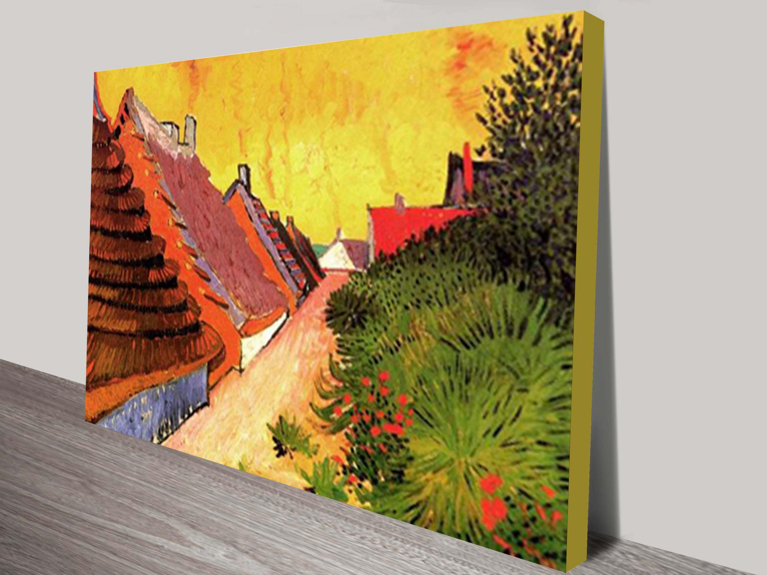 Van Gogh Street In Saintes Maries Classical Wall Art On Canvas