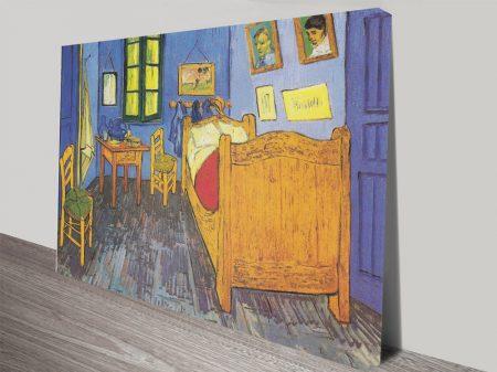 La Chambre à Arles Canvas Art Print by Vincent van Gogh