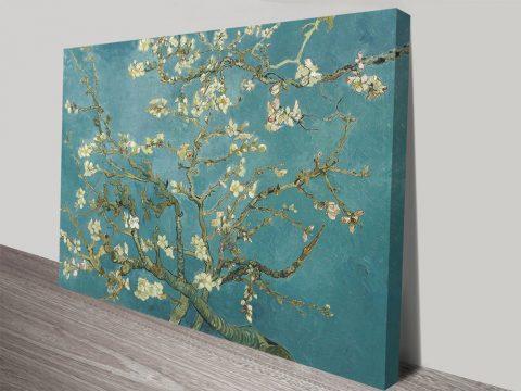 Almond Blossom Canvas Art Print by Van Gogh