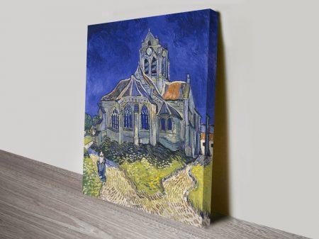 The Church in Auvers-sur-Oise Vincent Van Gogh Print