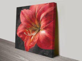 Vivid Floral Crop-III Print Art