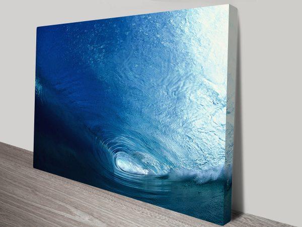 Vortex Waves Canvas Art Sydney