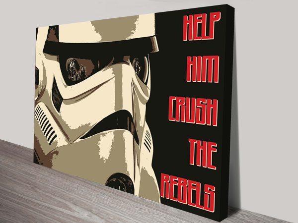 Crush Canvas Star Wars Poster