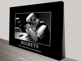 Star Wars Regrets Poster