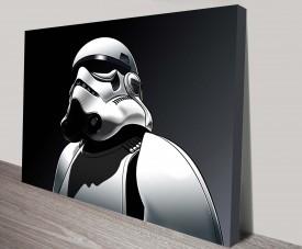 Stormtrooper Star Wars Art Canvas Print Painting