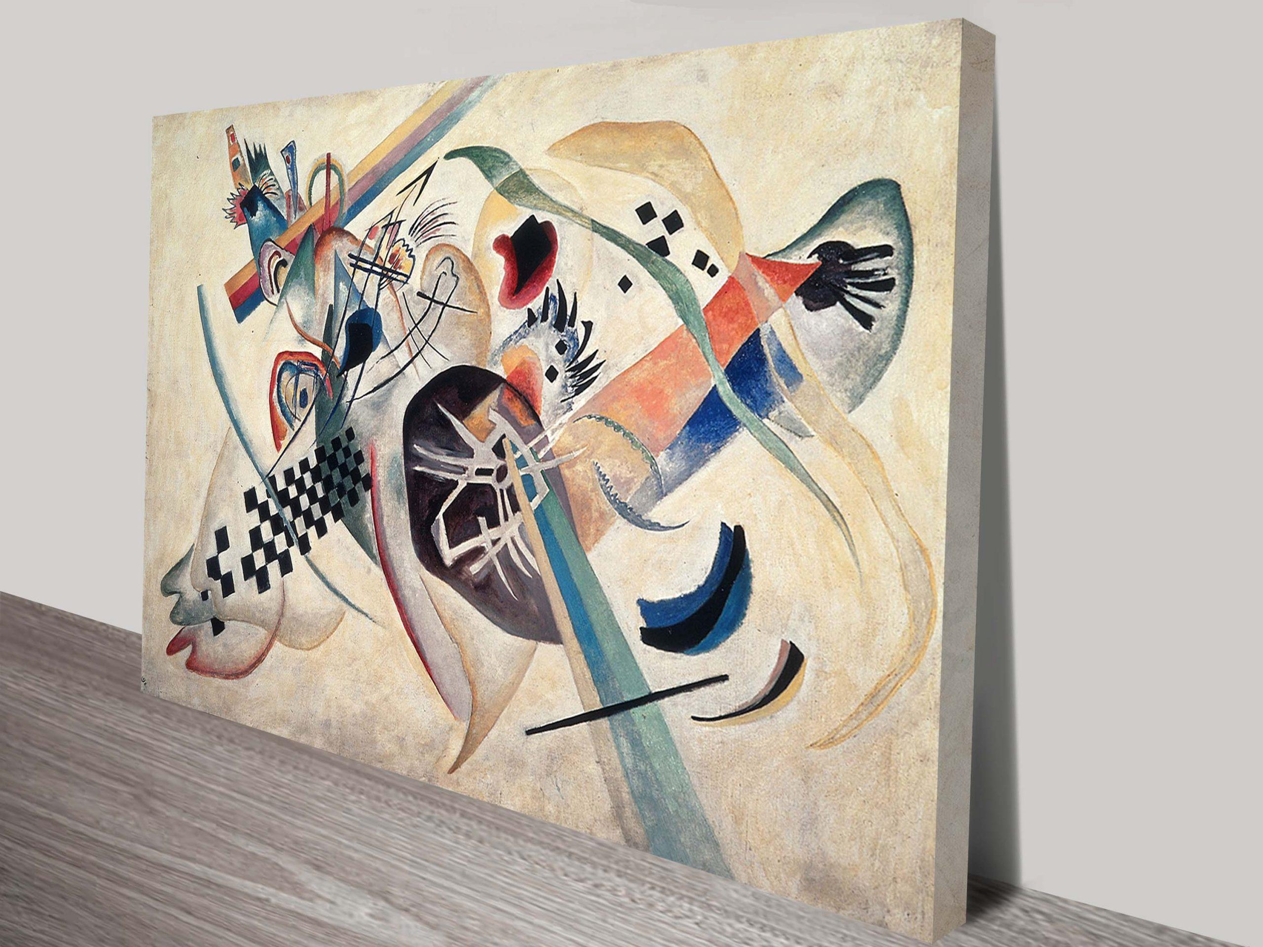Wassily Kandinsky Canvas Abstract Wall Art Print