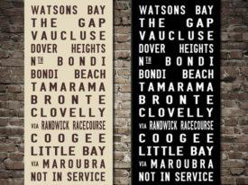 Watsons Bay Tramscroll Bus Art Sydney